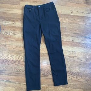 Reformation black high & skinny jeans size 29
